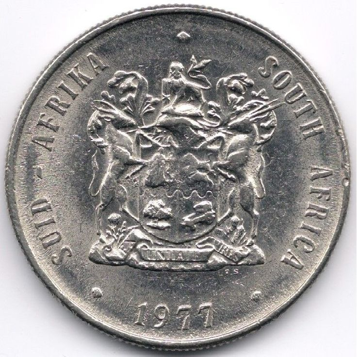 South Africa : 1 Rand 1977