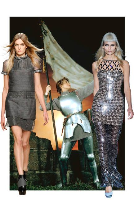 Get ready to feel warrior tough this year: Flats Men'S, Blunt Bangs, Men'S Shoes, Arc Blunt, Chain Mail, Chains Mail, Fall Fashion, Fall Trends, Women'S Fashion