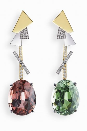 Dissonance; earrings, Fabergé http://www.vogue.in/content