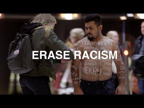 Mitä tapahtuisi, jos rasismi pyyhittäisiin pois? Katso, miten ohikulkijat reagoivat YleX:n haasteeseen   Uutiset   YleX   yle.fi