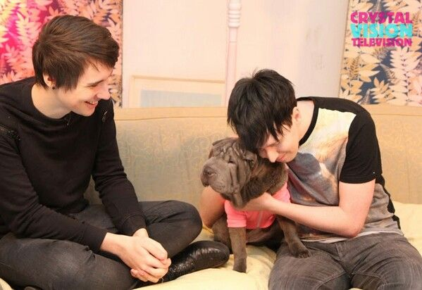 Photo of Phil Lester & his  Dog
