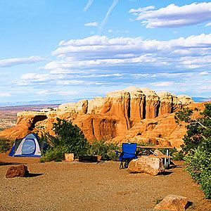 Cathedral Gorge State Park, Northeast of Las Vegas - Best Fall Camping Sites - Sunset Mobile