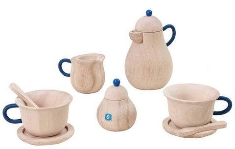 Wooden Toy Tea Set,  - The Natural Newborn