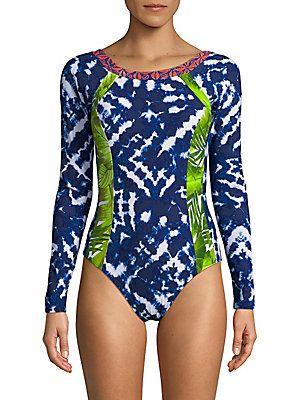 La+Blanca+Swim+Multi+Print+One+Piece+Swimsuit+Swimwear+ +Clothing