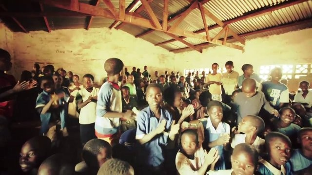 """Sineya Primary School class brought down the houseeeee with this song sang in Chichewa and meaning """"joy, joy, joy my Jesus. When I sing, when I dance, when I jump. There is joy.""""  Captured by Michael Hobbs last week during our trip in Malawi: http://www.lindseytalerico.com/2013/05/13/dear-malawi/"""