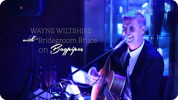The Talent Pool | Wayne Wiltshire + Bridegroom Bruce on Bagpipes. This clip contains bagpipes. You Have Been Warned!