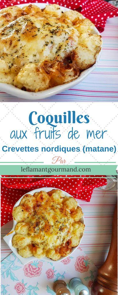 Coquilles aux fruits de mer (Pour la saison des crevettes nordiques) | Le flamant gourmand