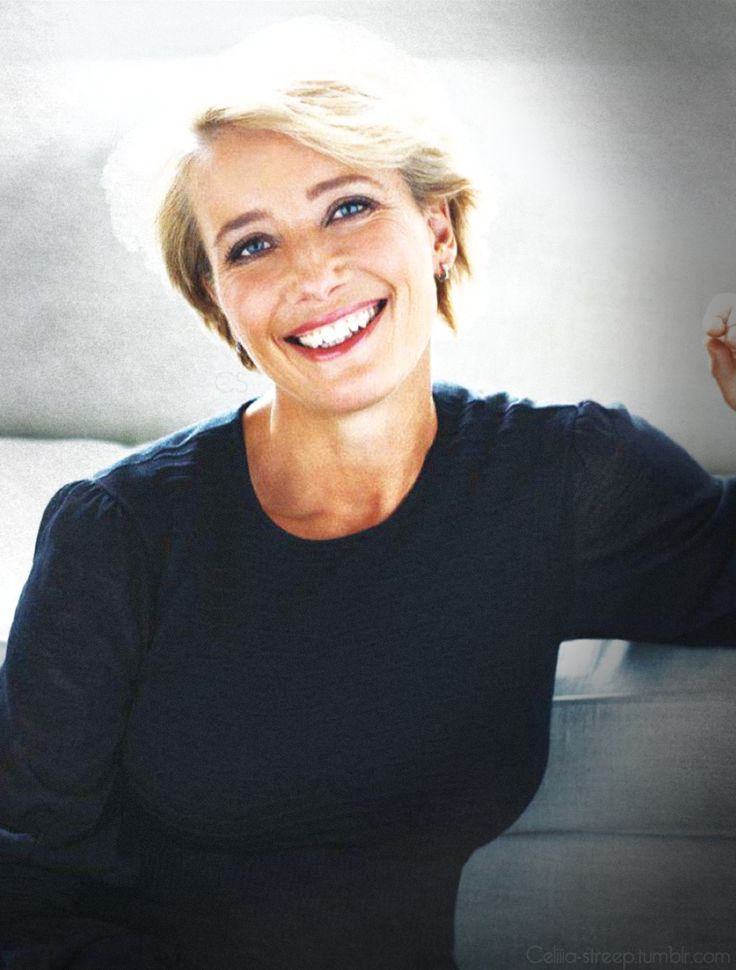 Forever young at heart, the stunningly talented Emma Thompson