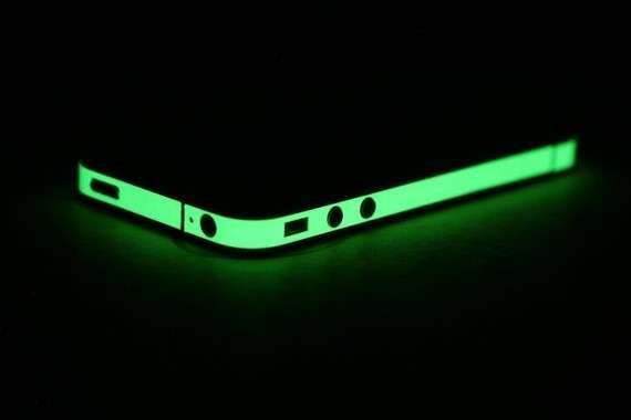 Glowing iPhone Accessories - The iPhone 4 Decal Wrap Adds a Personal Touch to Your Phone (GALLERY)