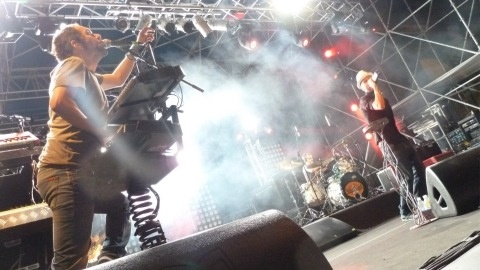 Pistoia Blues 2012: Subsonica on stage