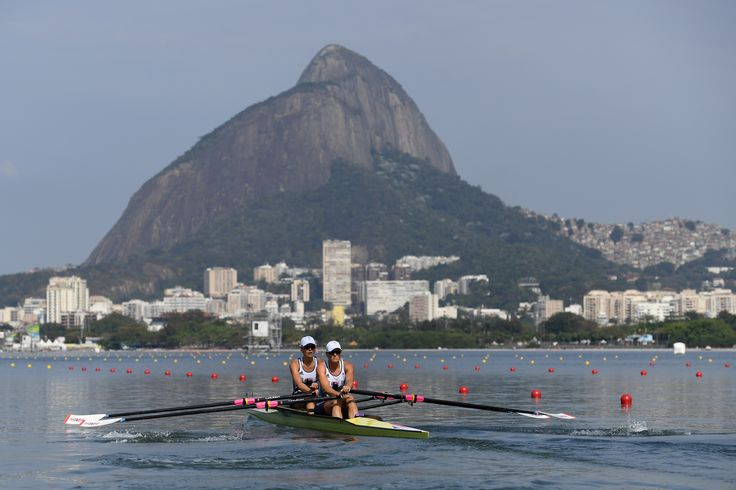 Team GB rowing through Rio