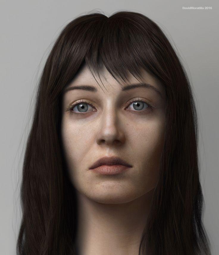 Candela by David Moratilla Amago | Portrait | 3D | CGSociety