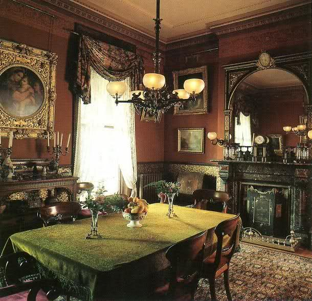 Victorian Dining Room: 17 Best Images About Edwardian/Victorian Dining Rooms On