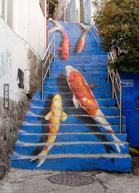 Stairway in South Korea