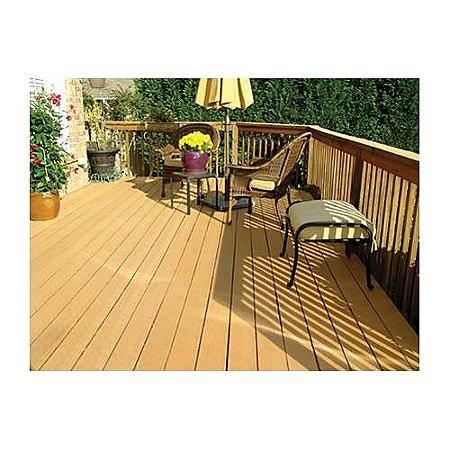 Profekt™ Decking Strip - Cedar | Patio deck designs, Deck ...