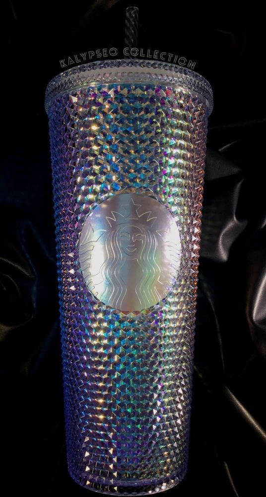 6db609a2a04 NEW Starbucks Holiday 2018 Iridescent Embellished Cold Cup Tumbler Venti  24oz #StarbucksCoffee