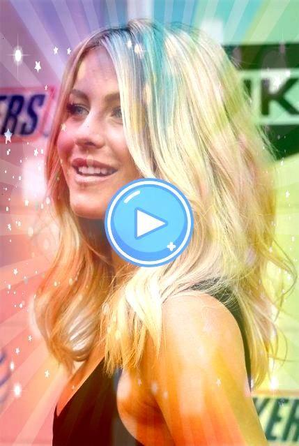 #hairstyles #medium #length #blonde #round #faces