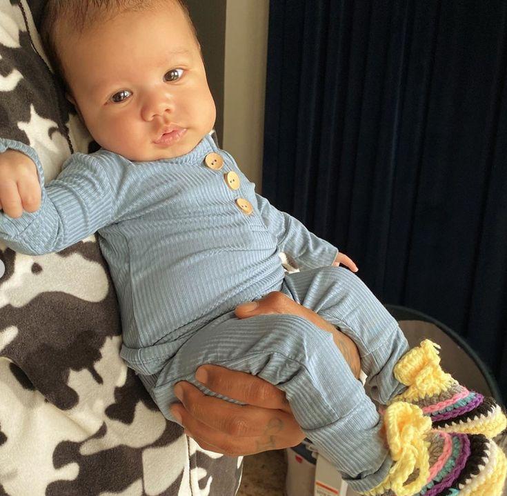 Amber Rose's Newborn Son Slash Is Already A Heartbreaker