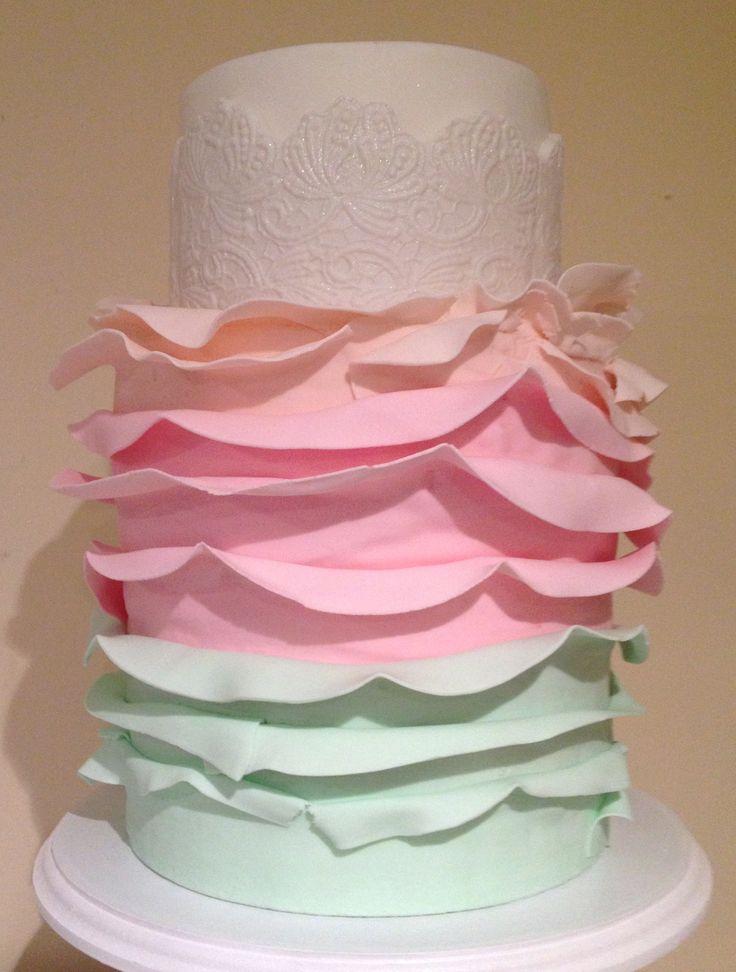 Pink Log Cakes