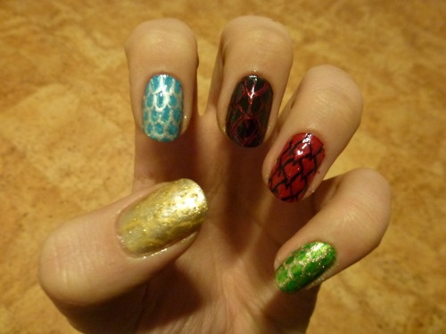 Inheritance Cycle Dragon nails
