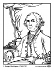 Presidents of the United States Coloring Sheets