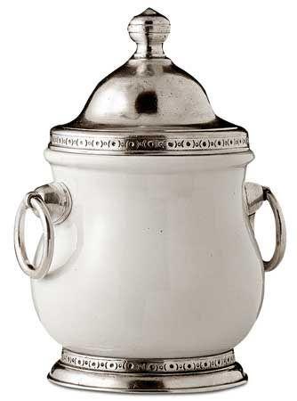 Банка, емкость 18,5 см H сl 60 (олова, керамический) - коллекция: Эмполи. Научный Центр Cosi Tabellini.