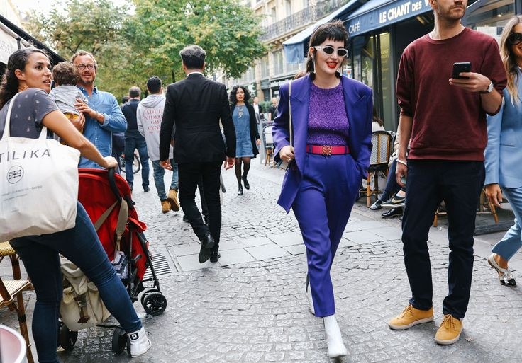 The Best Street Style From Paris Fashion Week Spring '18