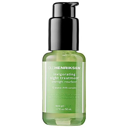 ✔OLE HENRIKSEN Invigorating Night Treatment》 I use it as a serum but the bottle says it's a facial gel...what does that mean? It's not moistuizing at all. Having finished the bottle I didn't notice any improvement to my skin texture or anything else it claims. However, I think it kept acnes at bay because shortly after I finished the bottle I started breaking out. But around the same time I also finished their Truth serum so...in the future, if I don't have any new serums to try, I will pick…