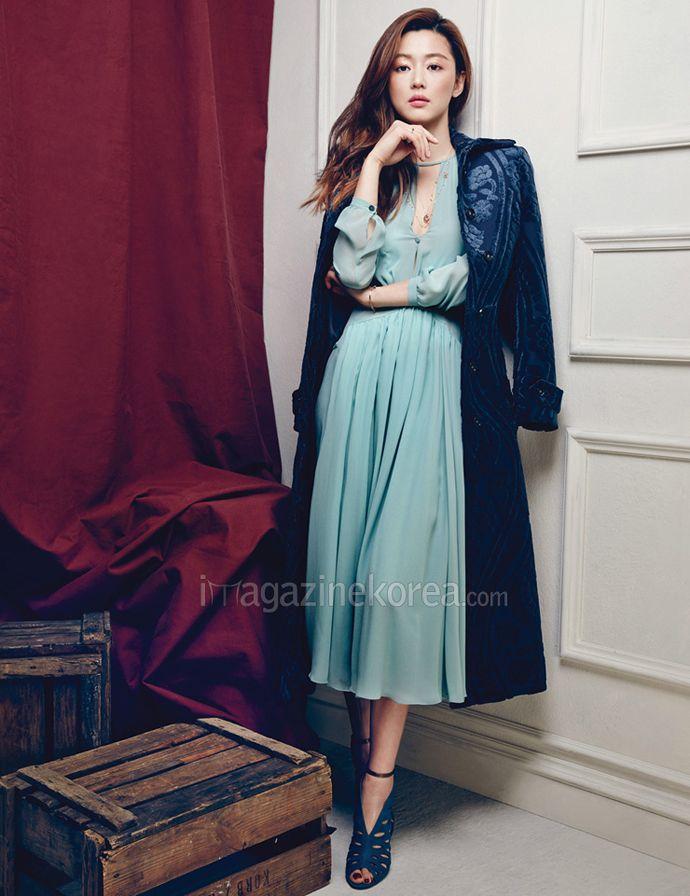 Jeon Ji Hyun For Harper's Bazaar Korea's April 2014 Issue