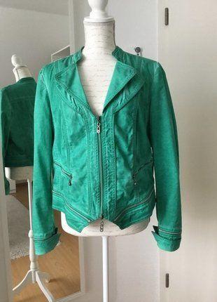 Kaufe meinen Artikel bei #Kleiderkreisel http://www.kleiderkreisel.de/damenmode/jeansjacken/137758729-biba-kurze-jeansjacke-in-turkisgrun