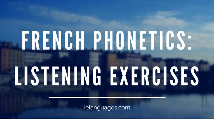 Free Authentic French Listening Resources - ielanguages.com