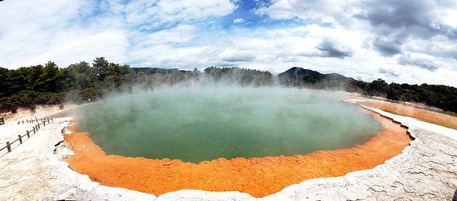 Champagne Pool ...   Flickr: Intercambio de fotos Nueva Zelanda