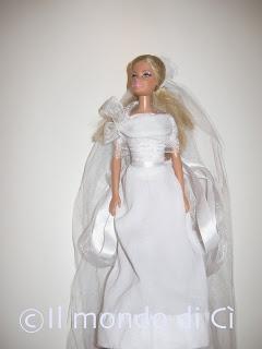 Il Mondo di Cì: Abiti da bambola autoprodotti... da cerimonia!