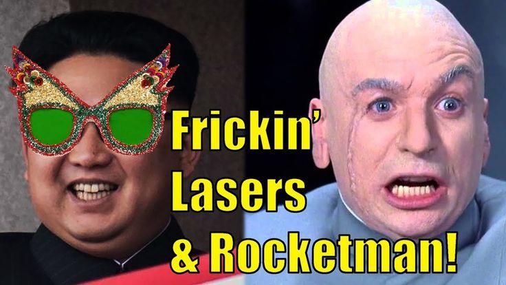 Rocket Man and Frickin' Lasers! #tcot #tlot #tgdn