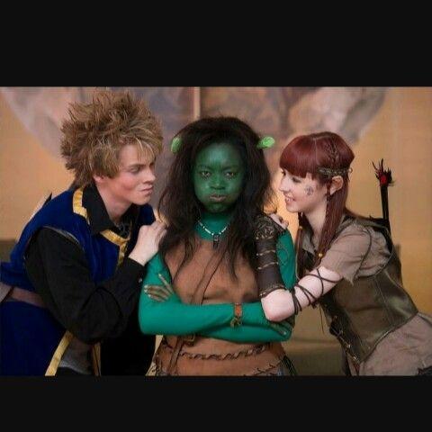 Zoe, Anisha and Dan