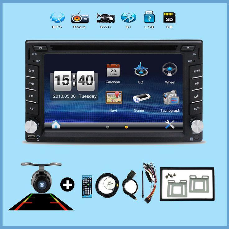 Car Multimedia cassette player tape recorder 2 din radio Car DVD GPS Player GPS navigation/Radio/MP3/Bluetooth/Steering Wheel