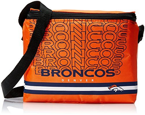 NFL Denver Broncos Impact Cooler, Orange and Blue:   Officially licensed product manufactured by Forever Collectibles
