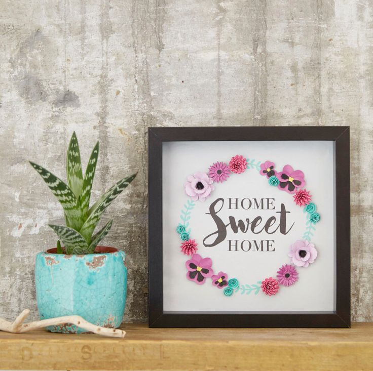 Home Sweet Home Handmade Picture, Housewarming Gift, Gift for Home, Wall Decor Picture, Gift for New Home, Home decor, Unique Home Gift, by Lilliputbelle on Etsy https://www.etsy.com/listing/474776485/home-sweet-home-handmade-picture