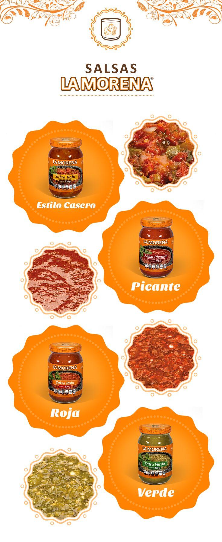 Descubre la inigualable sazón de nuestras salsas.
