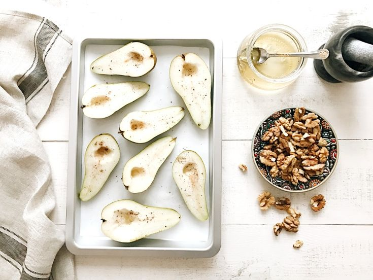 Baked Pears With Honey And Walnut // Simple + Beyond