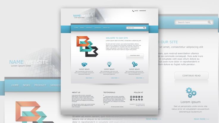 Photoshop Tutorial Web Design Clean And Simple Business