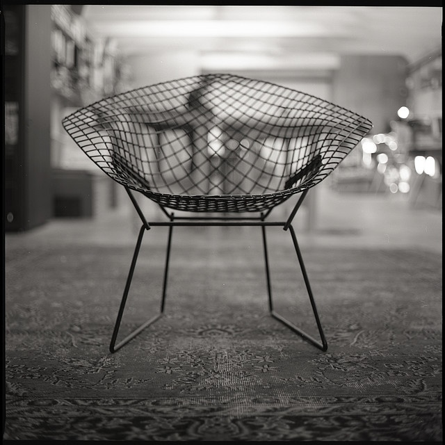 #Bertoia Diamond Chair.    how do i love thee, bertoia.....
