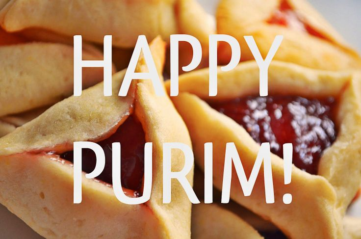 Happy Purim -- go eat some hamantaschen!