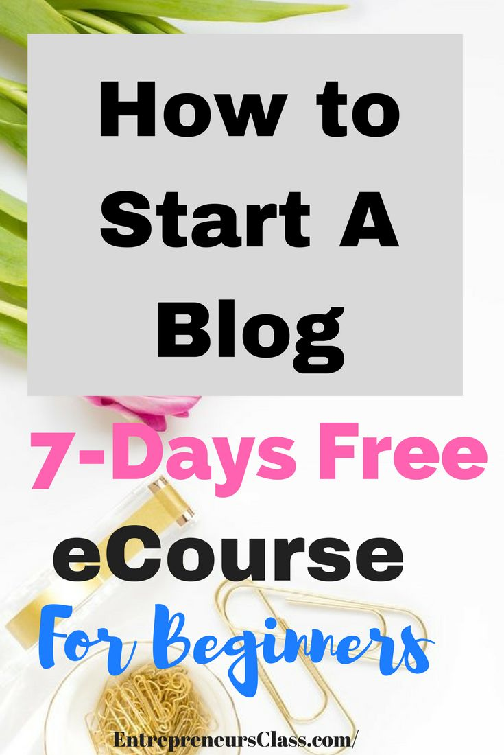 Blogging for beginners;How to make your first $1000 blogging.Sign up with our 7 days free blogging eCourse.