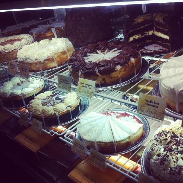 omnomnom #cheesecake factory #miami