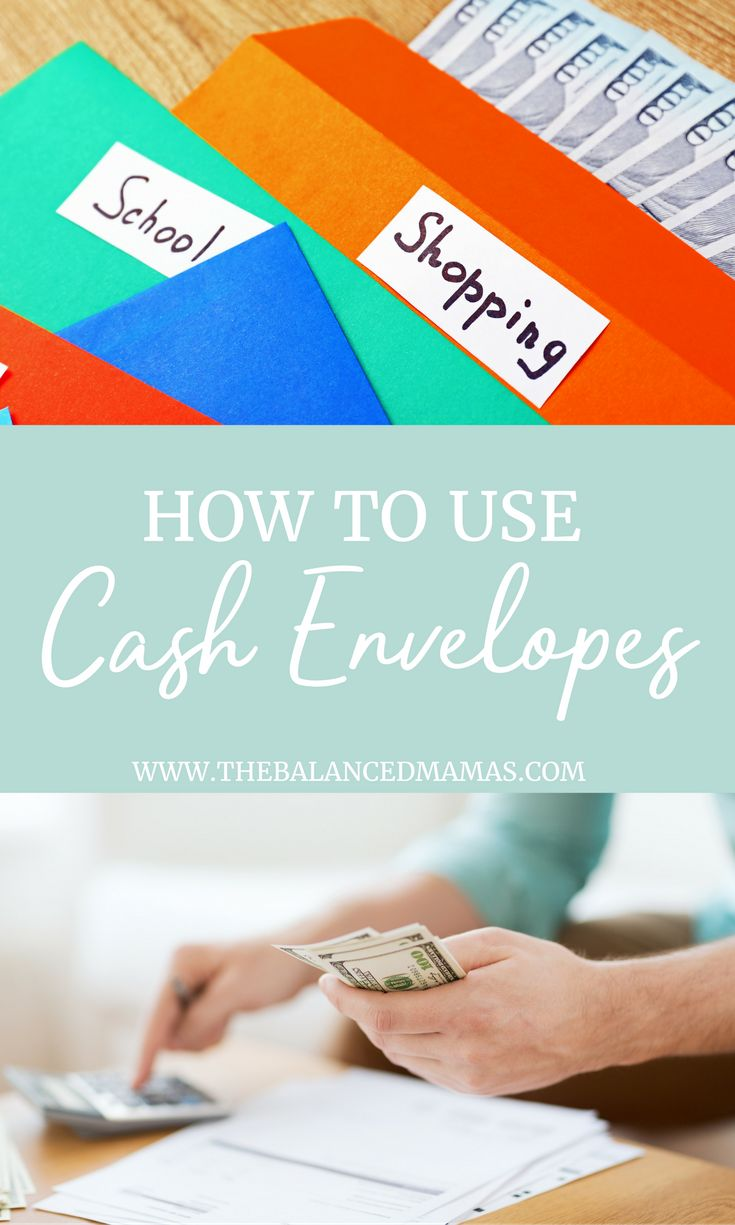 Have you ever struggled with keeping up with a traditional budget? Does balancing a checkbook stress you out? Then you need to give the cash envelope system. Cash envelope DIY | Cash Envelope Printable | Cash Envelope Template | Cash Envelope Budget | Cash Envelope Binder via @thebalancedmamas