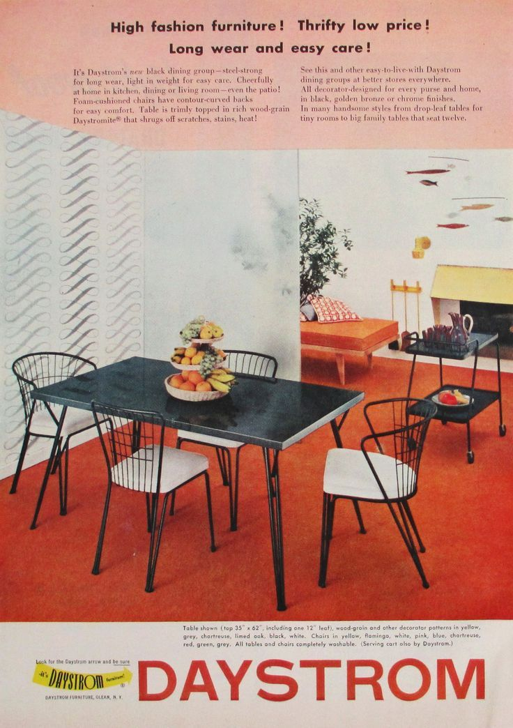 12 best Mid Century Brochure images on Pinterest Salvaged