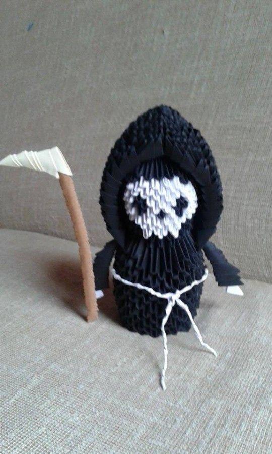 Mr Death… | Album | LIghtingAP | 3D Origami Art