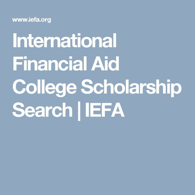 IEFA is the premier resource for financial aid, college scholarship and grant information for US and international students wishing to study abroad.