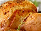Best turkey recipe ever. I've made it twice now and everyone loves it. I brush the skin with olive oi as well as the butter and do not baste.